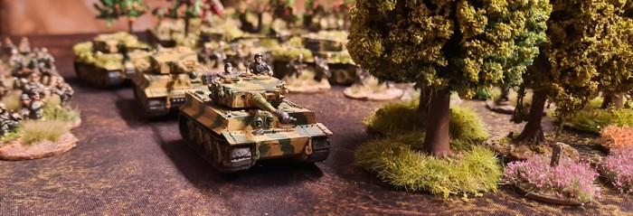 Tiger I  der schweren Panzer-Abteilung 505 bei Kursk.