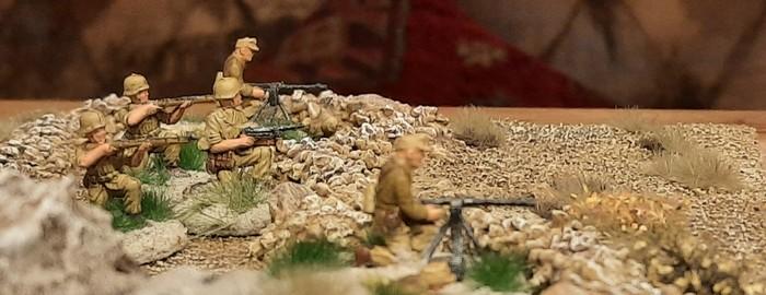 Stellungen des Schützen-Regiment 104