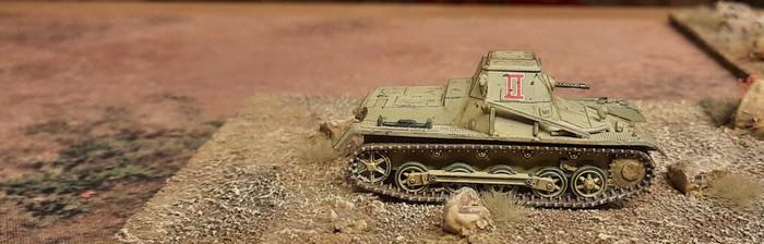 Befehlspanzer I der 2. Abteilung des Panzerregiment 8