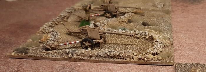 Zwei Pak der Panzerjäger-Abteilung 33