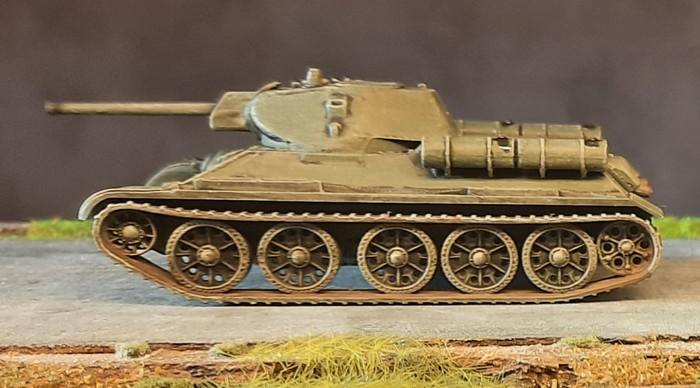 """Der zweite der fertigen Italeri 7523 """"T-34/76"""""""