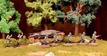 Matchbox German Infantry: immer wieder gern genommen