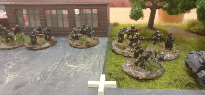 Hier weitere Foot Groups des 3. Platoons