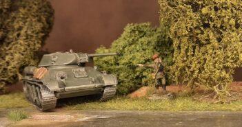 Ein T-34/76 für die 159. Panzerbrigade