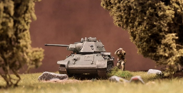 Dort vorne! Ein Diescher!. Alarm bei der 89. Panzerbrigade.