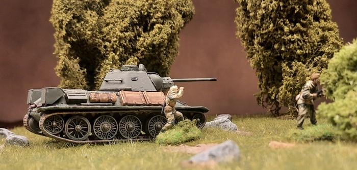 Noch ein T-34/76 für die 89. Panzerbrigade