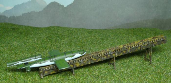 Das 15mm Modell der V1 von Flames of War in der Hit The Beach Starterbox (FWBX09) Alle Fotos vom Honischer