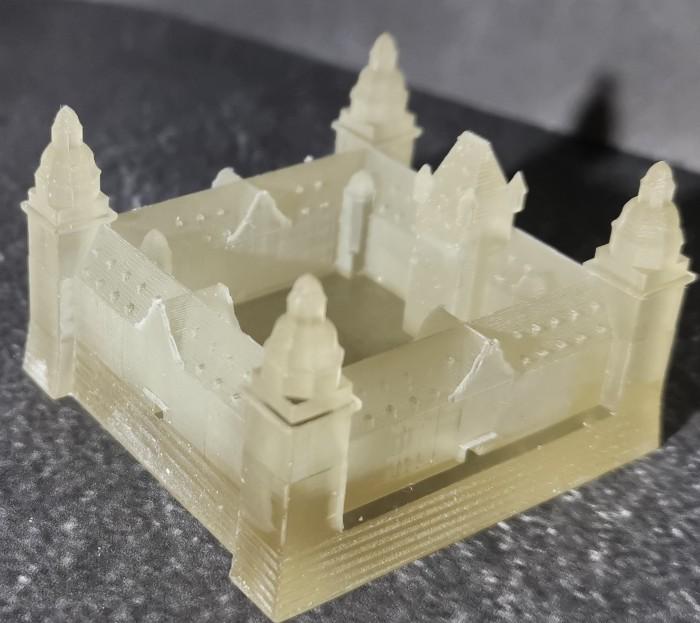 Schloss Johannisburg in Aschaffenburg - in 3D-Druck. Halvarson ist halt mit ganzem Herzen Ascheberscher. Recht so! (Foto: Halvarson)
