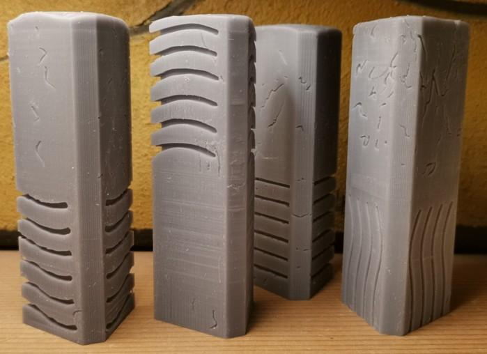 Der Anycubic Photon Zero SLA (Resin) 3D Druck fertigt unterschiedliche Modell in verschiedenen   Qualitäten. Die Auflösung von 480 dpi setzt Grenzen, doch ist sehr Vieles sehr gut möglich.... (Foto: Halvarson)
