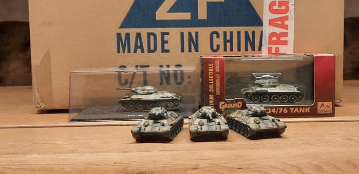 DeAgostini T-34/76 und Easy Model... Schnelle Rekruten...