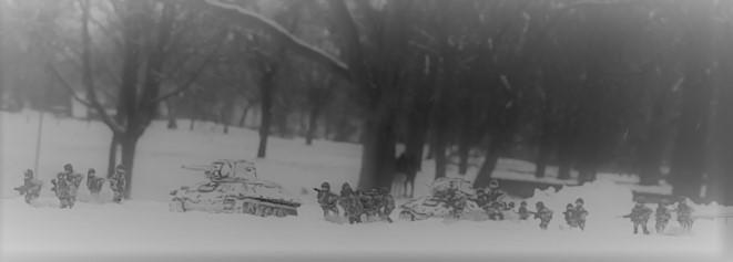 Russischer Sturmangriff mit den T-34/76 - aus den XENA-Studios in Monnem