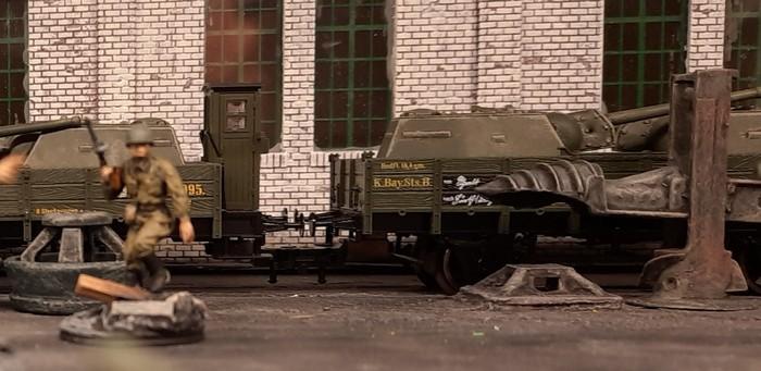 Glücklicherweise hat die Großherzoglich Unikornische Staatseisenbahn eine Großteil des Materials angeliefert.
