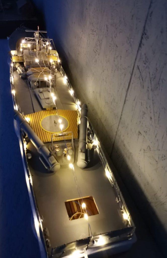 """Das Schnellboot der Jaguarklasse """"Wolf"""" S6062. (Foto: Josef)"""