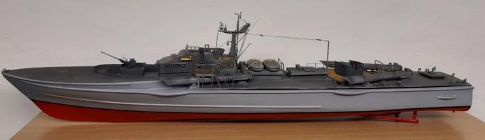 """Klassische Ansicht für das Schicke Modell. So würde es ein jeder auf das Regal stellen. NATO-Kennung P6062. Name: """"Wolf"""" (Foto: Josef)"""