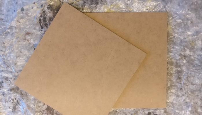 Zwei Terrain Tiles in der Größe 15 x 15cm