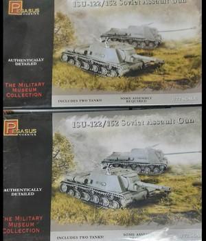 """Für die """"Swir-Petrosawodsker Operation"""": acht Pegasus ISU-152 (und ISU-122)"""