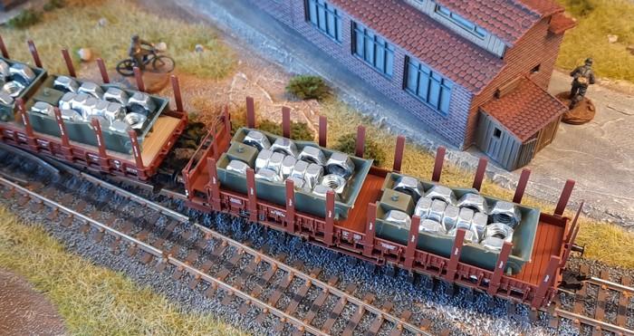 Die T-40-Rümpfe aus dem letzten Batch werden von der Unikornischen Staatsbahn angeliefeert.