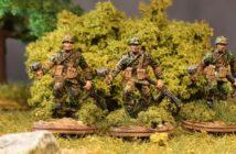 Eichenlaubmuster Frühling/Sommer: Neue Serie Tüpfeltarner fürs Panzergrenadier-Regiment 60 der 116. Panzer-Division