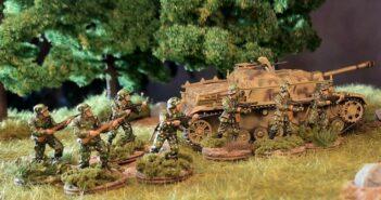 Erbsentarn: Flecktarn Erbsenmuster für das Panzergrenadier-Regiment 60 der 116. Panzer-Division