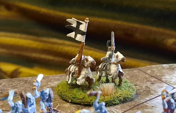 Die Ritter des Deutschordens sind unschwer auszumachen.