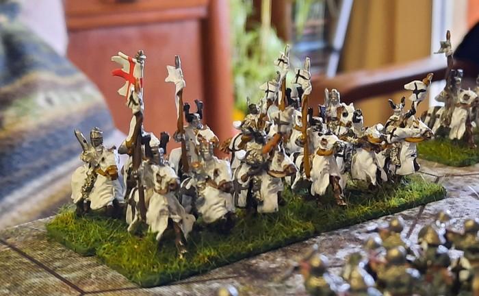 Die Ritter des Deutschordens rücken vor.
