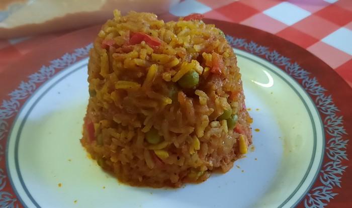 Kleine Einlage: Duvec-Reis nach Hausrezept.