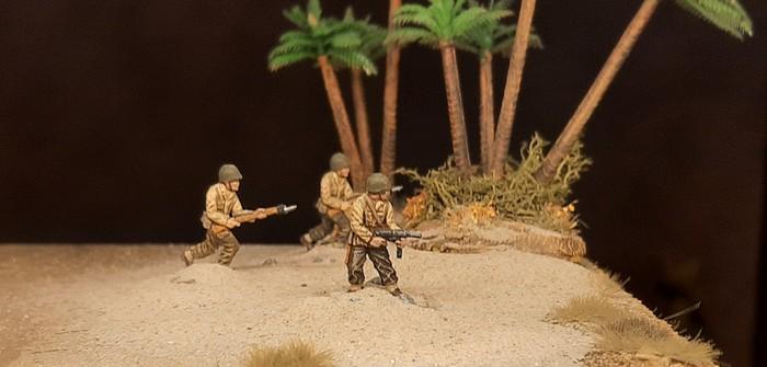 Torch, Italien und Pazifik: wir brauchen etwas US Infantry
