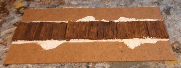 Das Terrain Tile zu Beginn des Arbeitsschrittes.