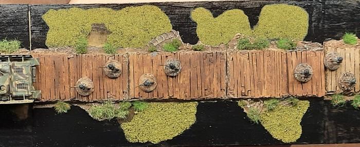 Das gesamte Terrain Tile im Sarissa Style. Das Infanterie-Regiment 510 hat wieder ein paar Herren entsandt.