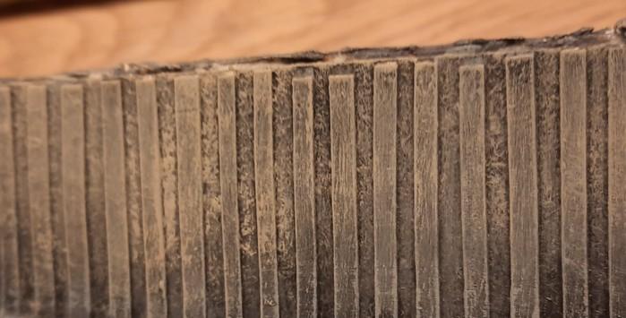 Die 89er Beige darf ruhig dicker aufgetragen werden. So habe ich es auf Originalfotos gesehen.