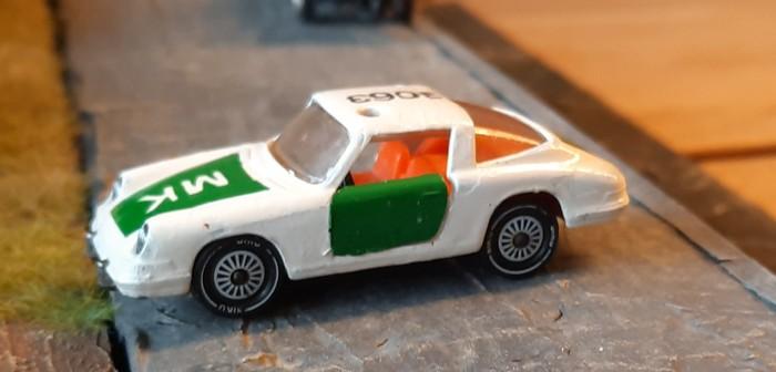 Porsche 911 Polizei V234 Siku