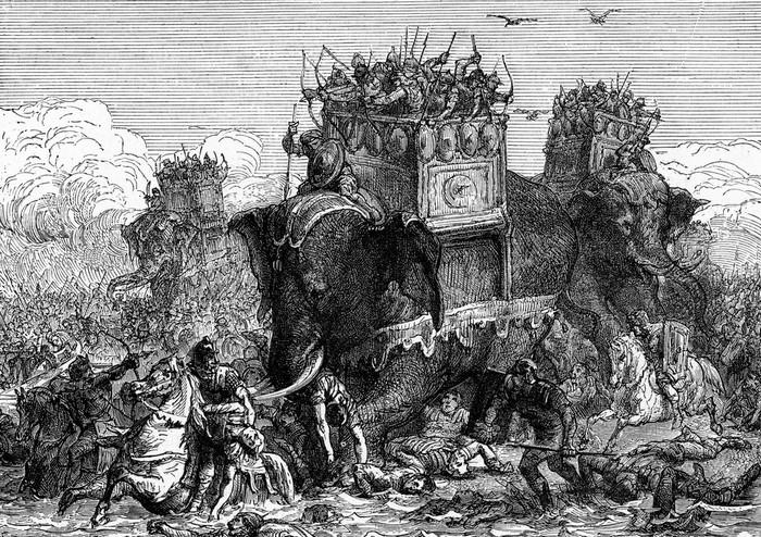 Schlacht um die Rhône (Foto: shutterstock - Morphart Creation)