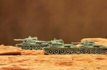 T-34 in der Steppe: Geländebau in 6mm