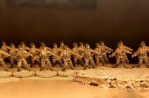 28 Mann für das 30th Infantry Regiment