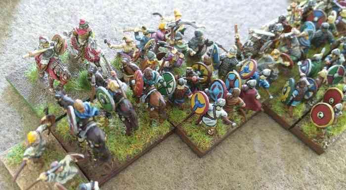 """Battle """"Alemannen gegen Franken"""" (Foto: Vodnik / MiniMaerk)"""