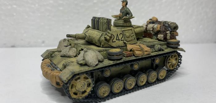Panzer III Ausf. N für das DAK (von Dragon) - vom Panzerschmied