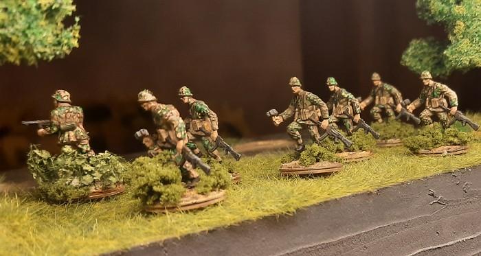 Die Jungs vom Panzergrenadier-Regiment 60 am Niederrhein.