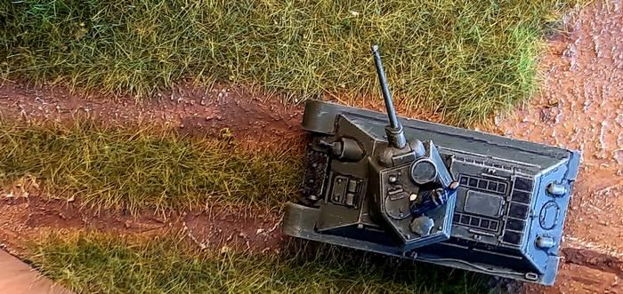 XENAs Objekt der Begierde: der T-34/76. Hier im Einsatz im Shturmigrader Stadtwald.