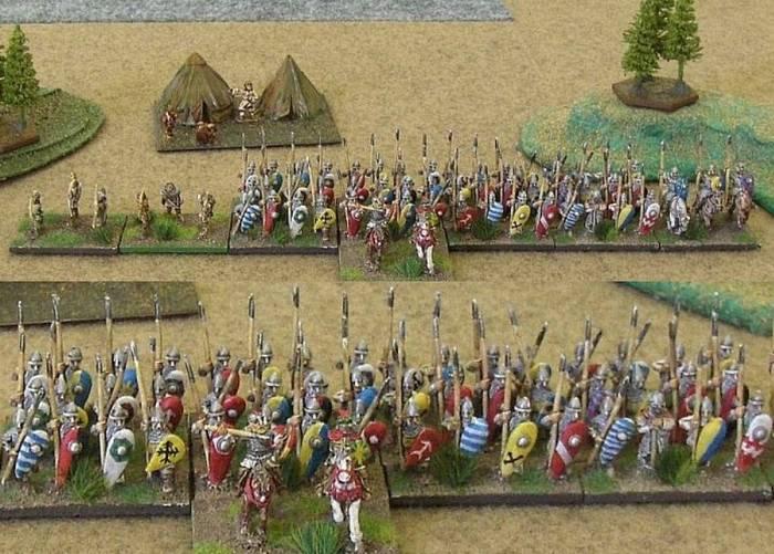 Böhmische Armeekontingente für Triumph! (Foto: vodnik)