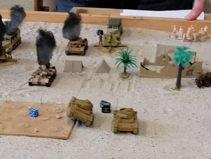 Der Angriff des Panzerregiment 5 erfolgt unter schweren Verlusten.